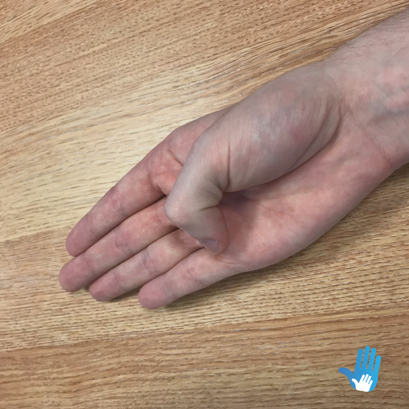 thumb bend exercise for osteoarthritis