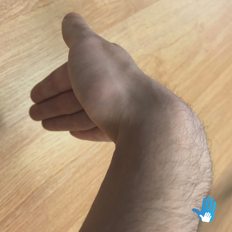 wrist bend exercise for osteoarthritis