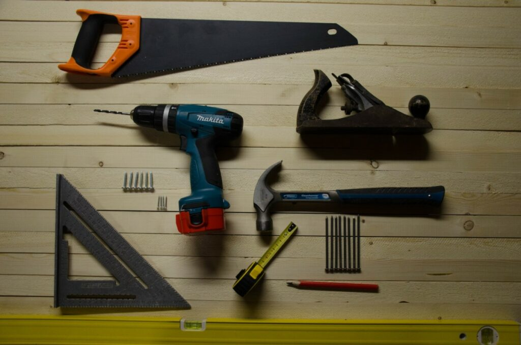 Some of the tools that cause injuries
