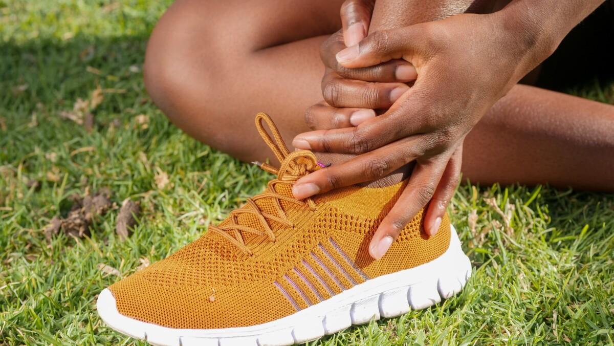 Women suffering from arthritis pain